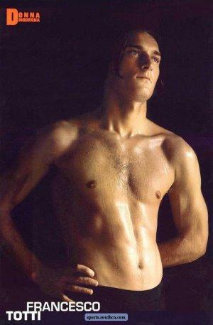 Francesco Totti topless