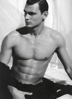 Greek Male Underwear Model Marios Lekkas