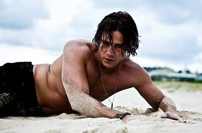 Michael Miziner shirtless