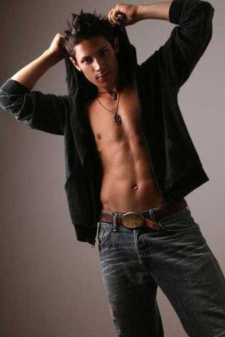 alex meraz shirtless body