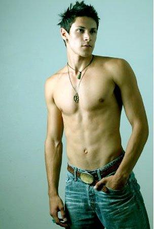 alex meraz shirtless hunk