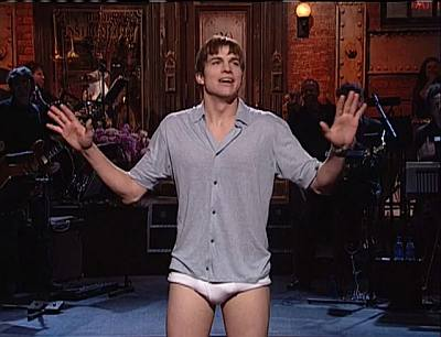ashton kutcher briefs underwear - tighty whitie