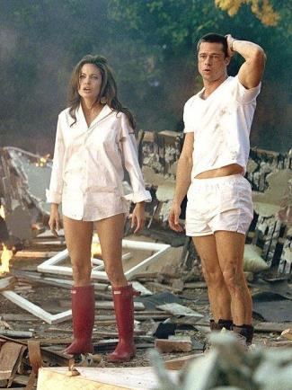 brad pitt underwear - mr and mrs smith