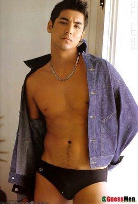 japanese brazilian male models akihiro sato underwear