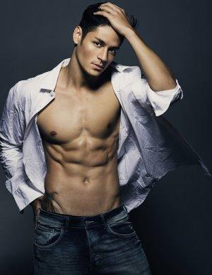 japanese brazilian male models hideo muraoka
