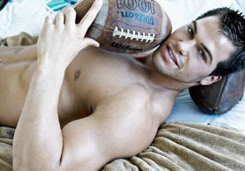 jed hill football jock underwear model
