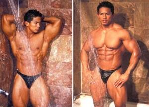 men in thongs underwear - asian leather guy