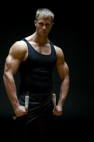 tyler davin male model sexy tank top