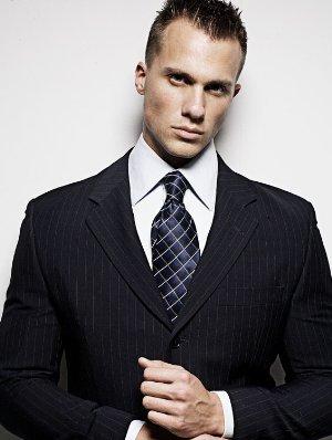tyler davin male model mens suit