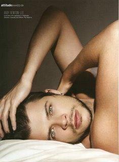 Andy newton lee shirtless attitude magazine