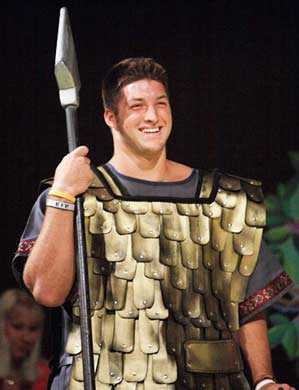 tim tebow actor theater stage