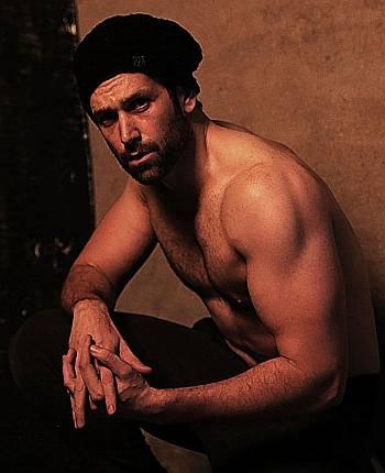 Abdullah Ejaz shirtless body
