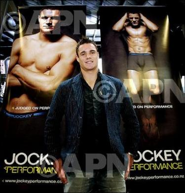 dan carter jockey underwear model