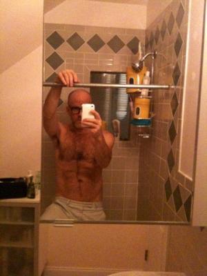 Michael Stipe Thomas Dozol Shirtless Boyfriends iPhone Photos