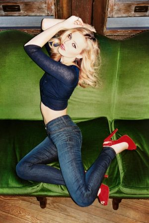 Georgia May Jagger model hudson jeans