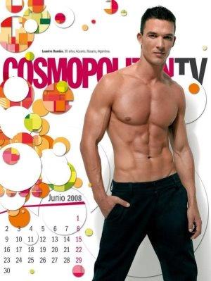 hot spanish men cosmo magazine hunks leandro damian