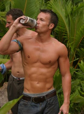survivor hunks shirtless jeff wilson