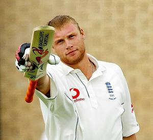 hot cricketeers - andrew fred flintoff