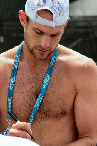 Andy Roddick shirtless body hair