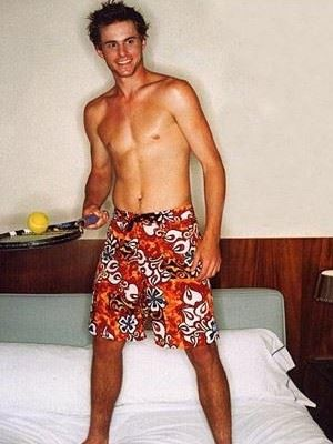 Andy Roddick shirtless