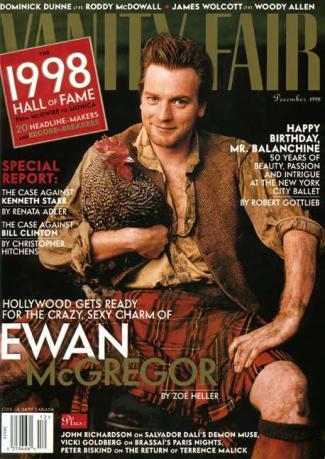 scottish men wearing kilts - ewan mcgregor