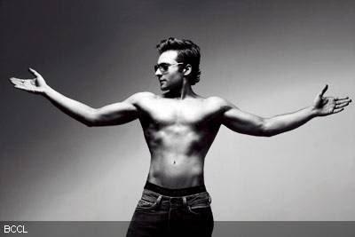 shirtless indian men - Jackky Bhagnani