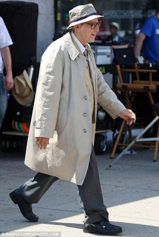 al pacino wearing long coats for men