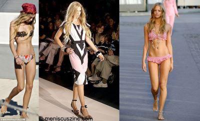 celebrity two-piece bikini swimsuit - theodora richards