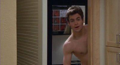 chris pine shirtless body