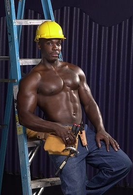 hot construction workers black hunk