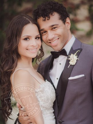 corbin bleu gay - wedding