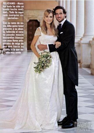 feliciano lopez wedding wife alba carillo