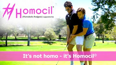 golf is so gay not homo