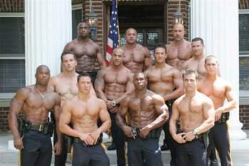 hot men in uniform sexy muscle man