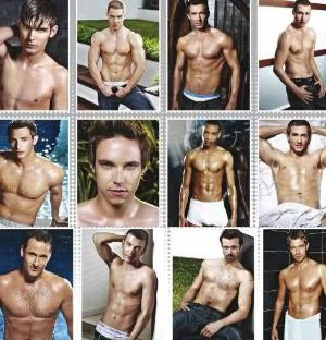 hollyoaks hunks calendar men