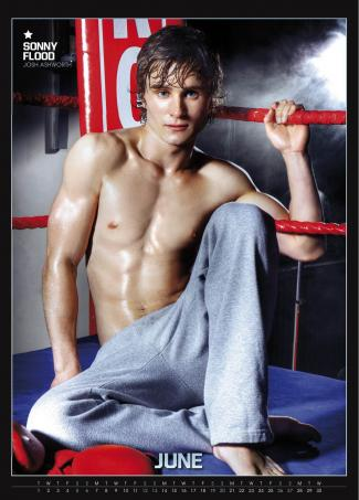 hollyoaks hunks calendar sonny flood