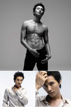hot korean male models won bin body