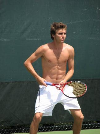 gilles simon shirtless