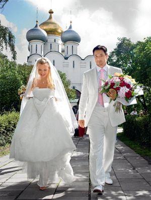 ilya kovalchuk wedding photo - wife