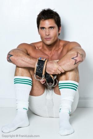 male celebrity socks - jack mackenroth