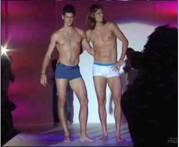 novak djokovic boxer briefs underwear model runway