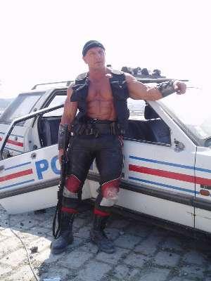 hot men in uniform shirtless police
