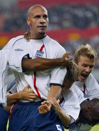 rio ferdinand gay object of affection