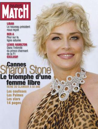 sharon stone anti-aging secret