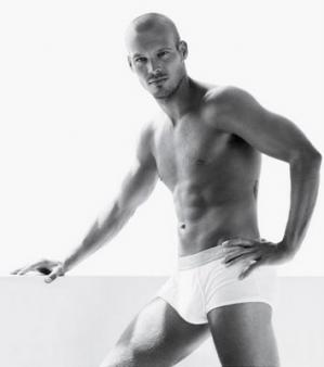 Fredrik Ljungberg underwear model ck boxer briefs