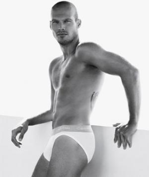 Fredrik Ljungberg underwear model ck briefs
