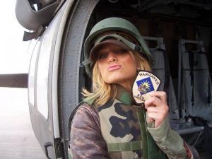 jessica simpson military uniform