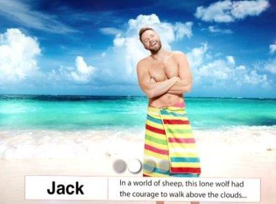 joel mchale shirtless in towel - great indoors