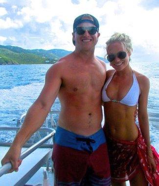 matt barkley shirtless with wife britt