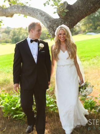 matt barkley wedding - wife brittany langdon